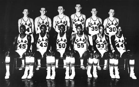 1957 South Bend Central Team